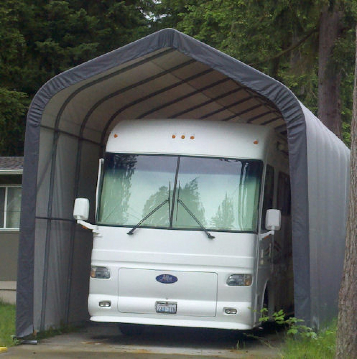 Portable Garage Shelter for Motorhome, 5th Wheel, RV and ...