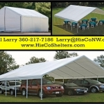 Weather Shield and Shade Canopies 30 to 50 long