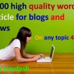 research and write a 1000 word article on any topic