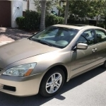 Excellent 2007 Honda Accord EX-L LOW 74,875 Miles