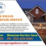 Residential Garage Door Repair & Installation Services Frisco, Texas