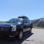 Luxury private SUV Vail Aspen to Denver limo