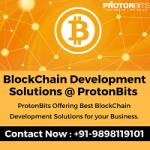 ProtonBits - BlockChain Development Company - USA - +919898119101