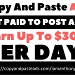 Earn up to $300 per day. 5 people needed immediately.