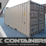 Double Door Cargo Containers for Sale