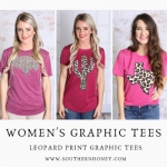Wear Glamorous Women's Graphic Tees by Southern Boutiques