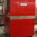 4x4x6 Electric Powder Coating Oven