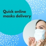 Quick online masks delivery
