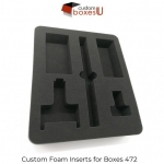 Custom foam insert with free shipping in Texas, USA